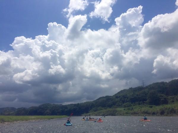 暑い夏は川でアクティビティ〜(*^^*)🎵