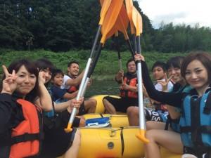 早朝ラフティングツアー(6月〜9月中旬)