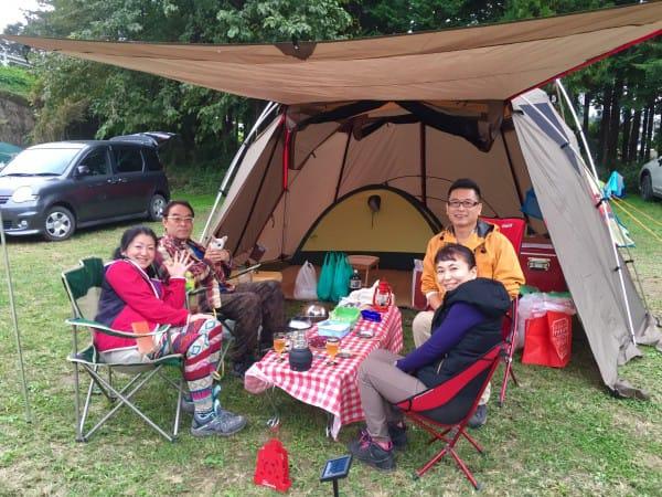 週末のキャンプサイトの様子❗️お洒落camperご紹介✨